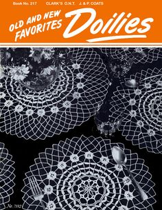Old and New Favorites Doilies | J. & P. Coats - Clark's O.N.T. Book No. 217