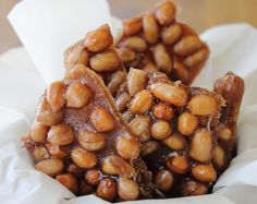 Candied Peanut Brittle Recipe Adapted From My Mexico By Diana Kennedy (scarlettabakes) Peanut Brittle Recipe, Brittle Recipes, Candy Recipes, Dessert Recipes, Homemade Candies, Delicious Dinner Recipes, Food Gifts, Christmas Baking, Just Desserts