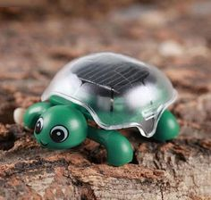Doinshop Brand New Mini Solar Educational Toy Little Tortoise Solar Powered Turtle with Solar Panel for Kids Funny... - Listing price: $8.88 Now: $3.32