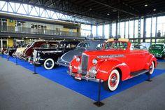 Retromobile en la UNAM: exhiben autos antiguos y de colección