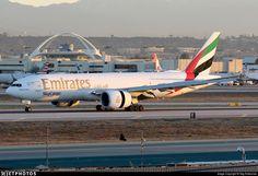 Airline: Emirates (leased from Dubai Aerospace Enterprises Capital) Registration: Aircraft Variant/Customer Code: Boeing Location: Los Angeles International Airport Vuitton Bag, Louis Vuitton, Emirates Airline, Boeing 747 200, Flight Deck, Photo Online, Airports, International Airport, Dubai