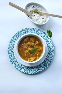 Curry de poulet korma