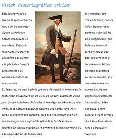 Texto de Jovellanos elogiando la figura de Carlos III. Imagen de Carlos III en traje de cazador (1786-1788), Francisco de Goya y Lucientes. Museo Nacional del Prado