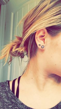 Middle cartilage piercing