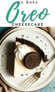 This intensely creamy and delicious No Bake Oreo Cheesecake is guaranteed to be a hit! Perfect for dinner parties, gatherings and birthdays, this showstopping Oreo cheesecake recipe is one you will fall in love with. Click for the easy step by step picture recipe, helpful tips, video tutorial and much more... #oreocheesecake #nobakecheesecakes #cheesecakerecipes #cookiesandcream #cookiesncream #nobakeoreocheesecake #dessertrecipes Easy Baking Recipes, Fun Easy Recipes, Easy Desserts, Dessert Recipes, Easy Oreo Cheesecake Recipe, No Bake Vanilla Cheesecake, Picture Recipe, Dinner Parties, Helpful Tips