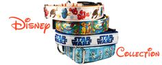 Disney Collection dog collars inspired by Disney
