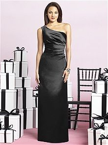 After Six #black #bridesmaid #dress