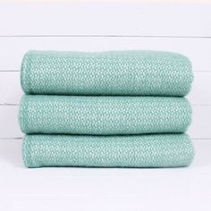 Seagreen Wool Blanket   Shedquarters