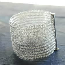 Image result for silver tubes for bracelet wire