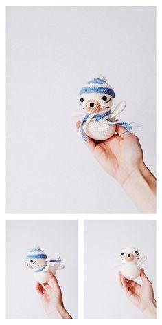 Amigurumi Baby Seal Free Pattern – Amigurumi Free Patterns And Tutorials Animal Knitting Patterns, Crochet Patterns Amigurumi, Amigurumi Doll, Crochet Toys, Free Crochet, Baby Seal, Hello Dear, Single Crochet, Free Pattern