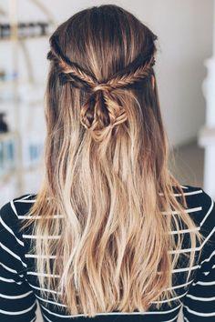 Half up braid tutorial / Jess Kirby