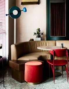 cafe in Seoul, Caravan / Australian interior designer David Flack / ph: Sharyn Cairns for Vogue Living Home Interior Design, House Interior, Interior Decorating Styles, Interior, Interior Design Boards, Australian Interior Design, Home Decor, Trending Decor, Home Decor Trends