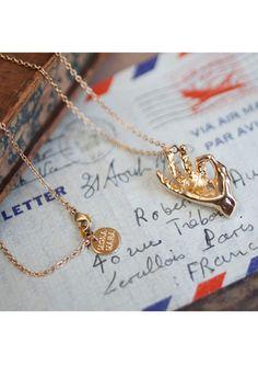 Okay Hand Necklace | MONA MARA £48