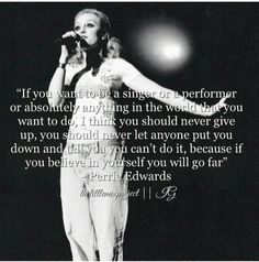I love this quote from Perrie ❤ I love it because I would love to be a musician but I always feel like I'm not good enough to be a musician. This made me feel better :)