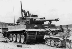 Tiger tank in Africa