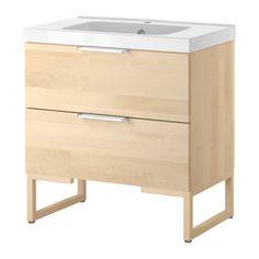birch 2 drawers