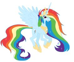 mlp+pictures | Princess Rainbow Dash - My Little Pony Friendship is Magic Fan Art ...