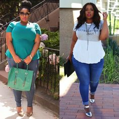 Bloggers love #FTFDenim   Click to shop these looks!
