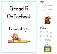 Preschool Cutting Practice, Preschool Writing, Free Preschool, Preschool Learning, Fun Learning, Grade R Worksheets, Phonics Worksheets, Childhood Education, Kids Education
