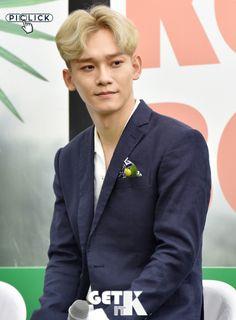 Chen - 170718 Fourth Regular Album 'The War' comeback press conference Credit: Get It K. (정규 4집 '더워' 컴백 기자회견) EXO EXO M Chen 170718 exo im exo m im chen im 170718 press conference p:news fs:get it k
