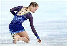 Fifteen-year-old Russian Yulia Lipnitskaya has become Russia's youngest athlete to ever win a gold in the figure skating Team Event,  Sochi 2014.
