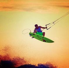 Kite surfing Rider: Ian Alldredge Kite: BWSurf Noise Pro