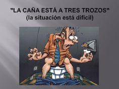 Dichos Cubanos: LA CAÑA ESTÁ A TRES TROZOS #Cuba #SpanishSayings