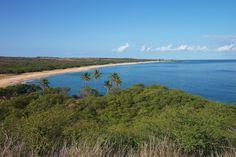 Famously-uncrowded Papohaku Beach