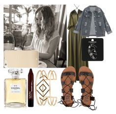 """""""Breakfast with Perrie"""" by diva-fashionista ❤ liked on Polyvore featuring Billabong, Stella & Dot, Topshop, Chanel, Kate Spade and NYX"""