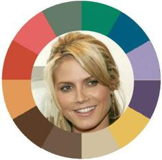 Heidi Klum has Muted/Soft coloring #muted http://www.style-yourself-confident.com/free-color-analysis.html