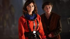 by Leah (Jenna Coleman) and Ashildr (Maisie Williams) (Credit: BBC)Over a year ago, shortly after the launch of Doctor Who Watch, we Doctor Who Season 9, Doctor Who Series 9, Doctor Who Clara, Doctor Who Episodes, 12th Doctor, First Doctor, Tv Episodes, Bae, Doctor Who Companions