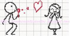 Blowing bubbles of love Loom Patterns, Beading Patterns, Embroidery Patterns, Wedding Cross Stitch, Cross Stitch Heart, Cross Stitch Designs, Cross Stitch Patterns, Cross Stitching, Cross Stitch Embroidery