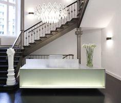 Reception desk Plan W #design #interior LOVE THIS!