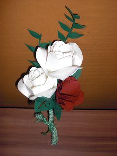 Rosensträußchen (Datei von SVGcuts und Silhouette Shop)