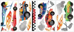 Anthony Morrow Race Car Peel & Stick Wall Decals (RMK1865SCS)