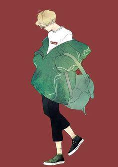 Green drawing