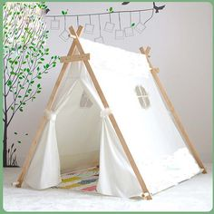 Cheap Toy Tents on Sale at Bargain Price Buy Quality tent frames hous  sc 1 st  Pinterest & I *think* I can DIY this maybe create an outdoor one - Canvas A ...