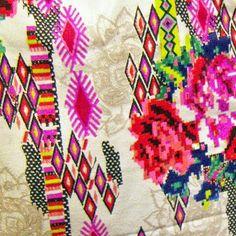 Geometric + Floral
