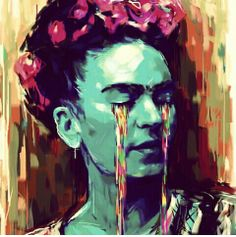 Favorite color Frida portrait!