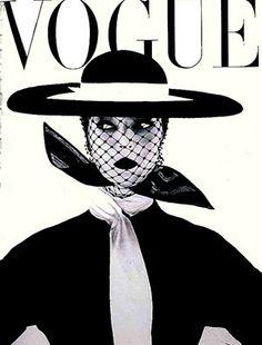 Retro Fashion Vogue Vintage, Capas Vintage Da Vogue, Vintage Vogue Covers, Vintage Fashion, Classic Fashion, Trendy Fashion, High Fashion, Simply Fashion, Fashion Black