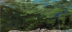 Fundacion Cerros de Bogota Golf Courses, River, Mountains, Nature, Outdoor, Outdoors, Naturaleza, Outdoor Games, Nature Illustration
