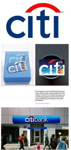 Pentagram re-designed the citi logo