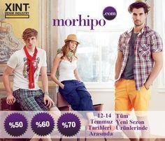 XINT ürünlerinde %70'e varan indirimler Morhipo.com'da... Kaçırma!