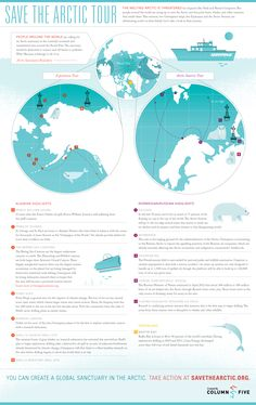 Save the Arctic from Big Oil! #infographic
