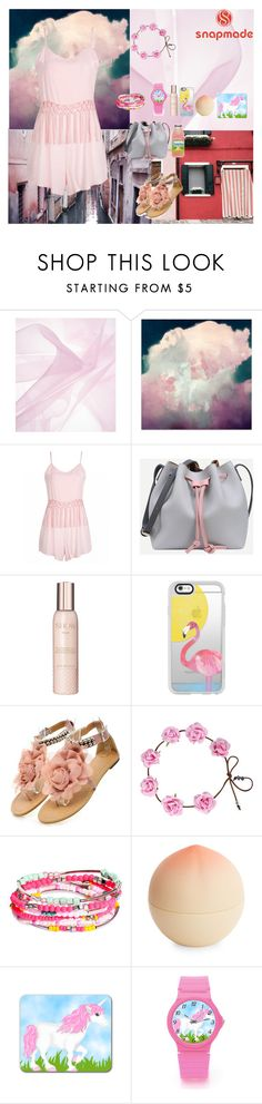 """PINK'S"" by oksana-kolesnyk ❤ liked on Polyvore featuring Show Beauty, Casetify, H&M and Tony Moly"