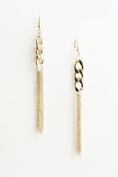 Chain Tassel Earring 4DBH4