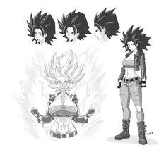 Caulifla Grown Up | Dragon Ball | Know Your Meme