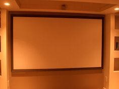 Picture of DIY Home Theater Screen in 10 Steps