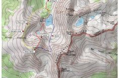 Topography - I like the model look of this. Shows peaks and depth.