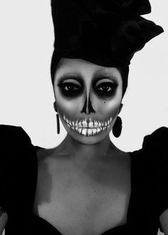 Raven, Day of the Dead Drag Makeup, RPDR2